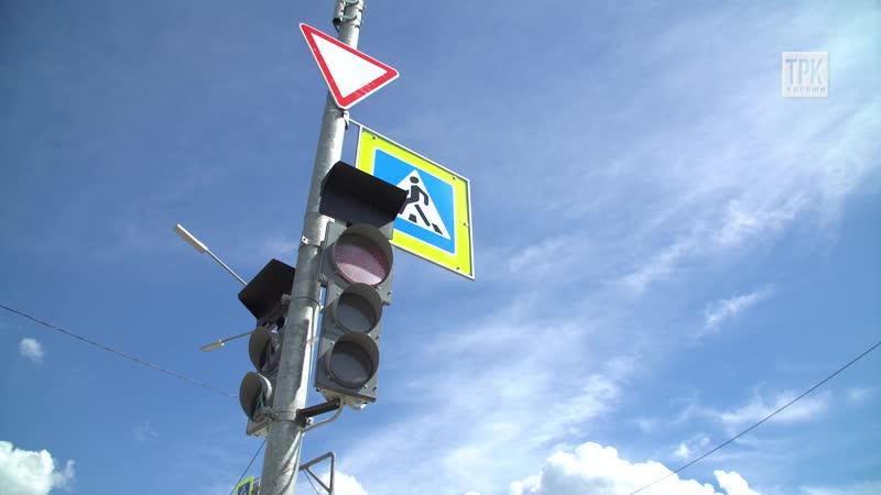 Новый светофор на перекрестке ул Восточная пр Героев