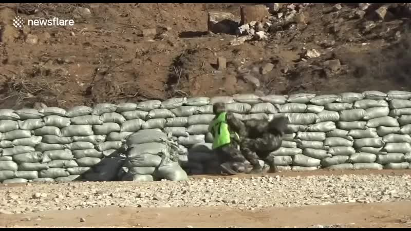 Криворукий солдат и граната