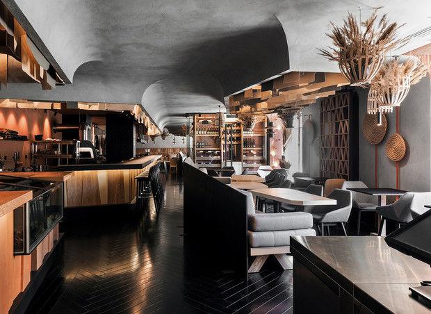 Ресторан Hunt в Санкт-Петербурге: проект бюро DA
