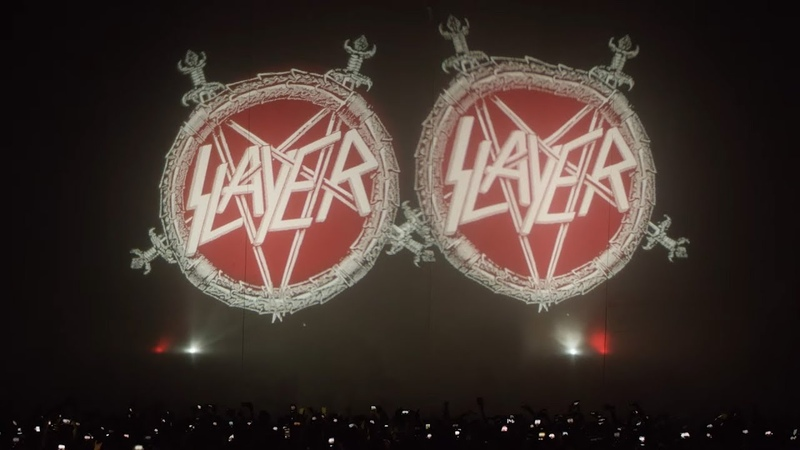 SLAYER Repentless Live At The Forum in Inglewood CA