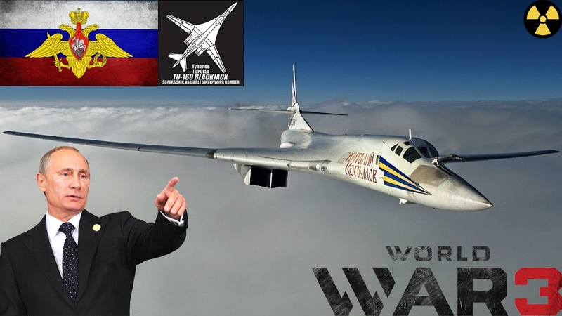 Tupolev Tu 160 White Swan In Action 2020