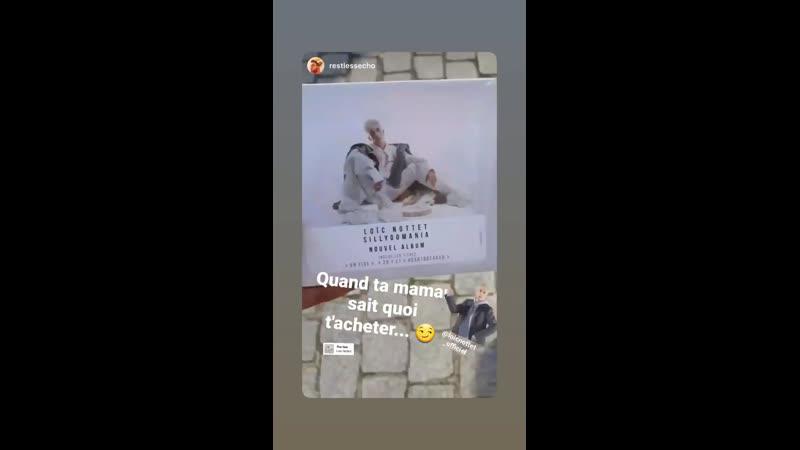 Insta story Loic 30 05 20