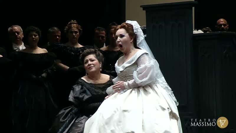 Donizetti Lucia di Lammermoor Доницетти Лючия ди Ламмермур Palermo 2016